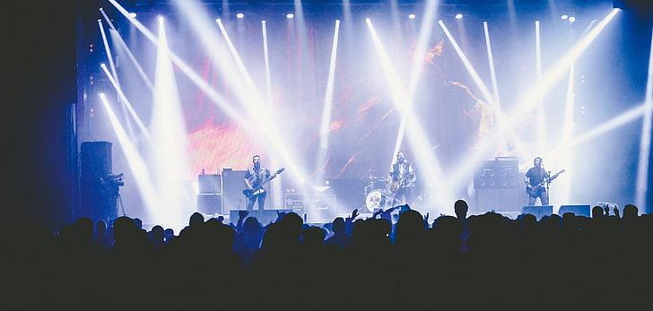 konsert, partiet, øya, festivalen, masse, musikk, støy
