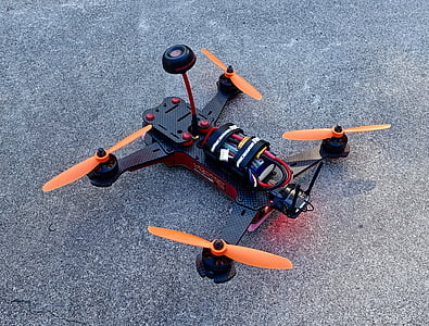 abellot, quadcopter, aeronaus, aèria, control, remot, controlat