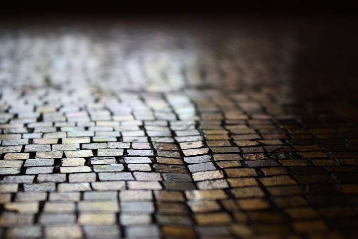 pfalstersteine, patch, away, road, mosaic, architecture, selective focus