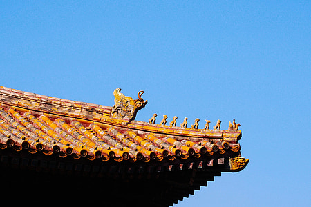 riikliku palace museum, Peking, hoone, Aasia, katuse, arhitektuur, kultuuride