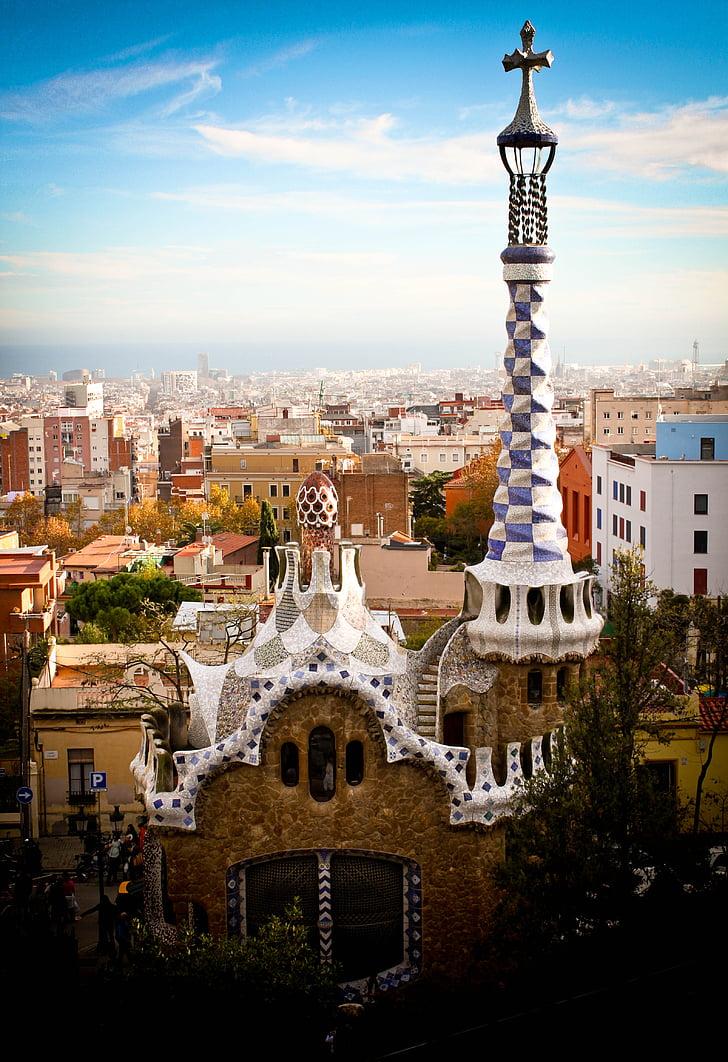 Parc Güell, Gaudí, Espanya, Barcelona, arquitectura, europeu, espanyol