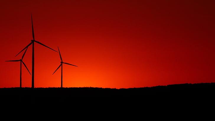 windräder, Rüzgar enerjisi, yenilenebilir enerji, enerji, Çevre teknolojileri, geçerli, Rüzgar enerjisi