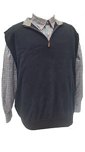 black, vest, fashion, male, shirt, clothing, garment