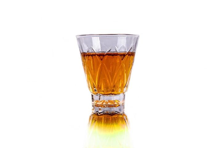Bar, rượu, barman, đổ, cận cảnh, chuẩn bị, chất lỏng
