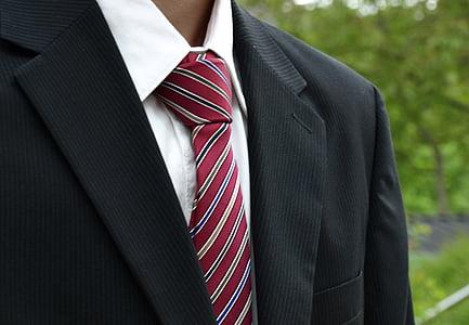 tie, suit, tie holder, man, human, design, fashion