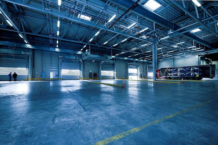 industrielle hall, toore, lager, industri, industriport, spiral gates, fast-avsluttende dører