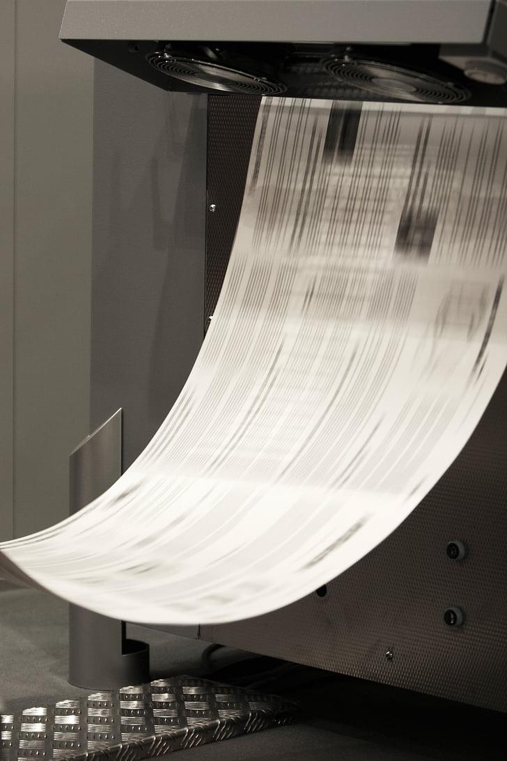 pressió, impressió, imprimir, impressora, impressió dipositant, màquina d'estampació, CMYK