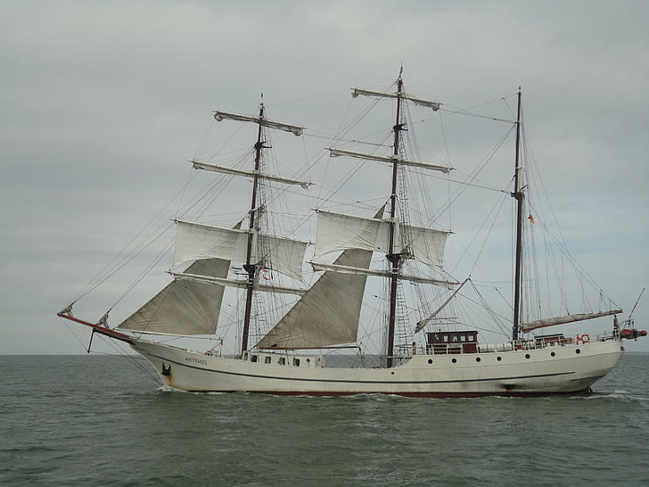 baltic sea, sea, sailing vessel, water, ships, yacht, nautical Vessel