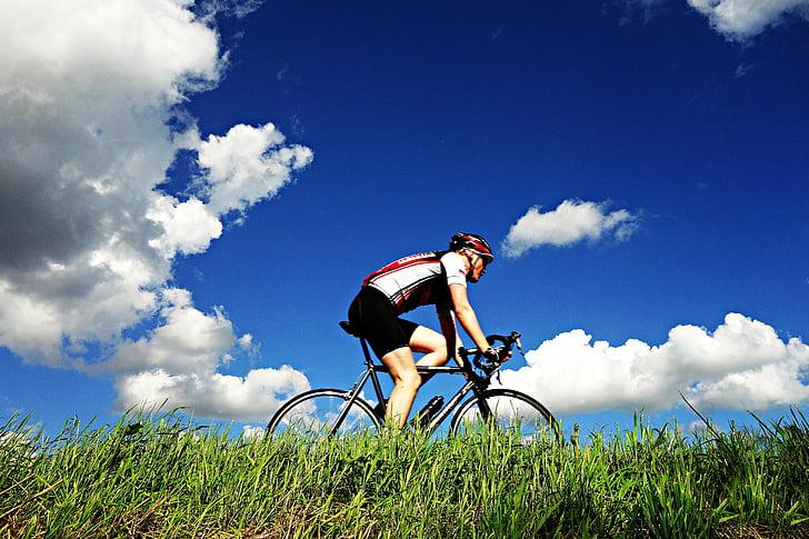 velosipēdists, ciklam sacīkšu, sacīkšu cikls, Sports, velosipēdu, velosipēds, sacīkšu