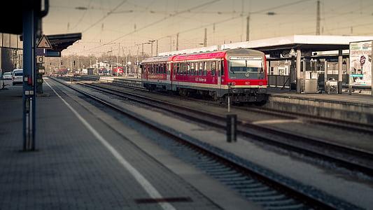 train, miniature, railway, transport, seemed, railway station, freight train