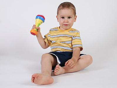 băiat, Scoala, zambind, copii, copil, jucărie, joc