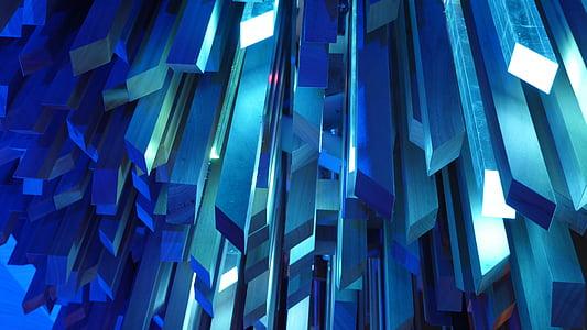 Crystal, kristallid, sinine, mineraalid