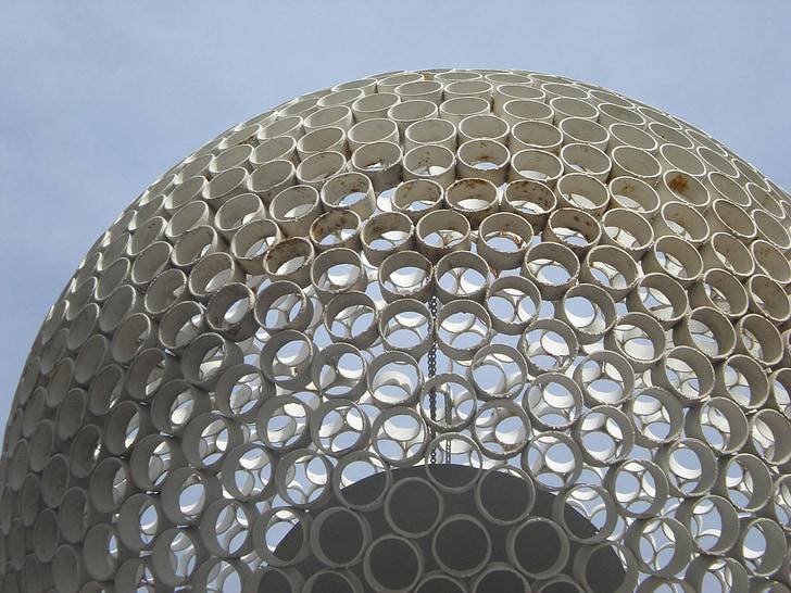 bygge, arkitektur, Debrecen Ungarn, Spa, ventilasjon