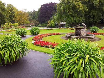 Αγγλία, λουλούδι, λουλούδια, Κήπος, κοιλάδα κήπους, χλόη, πράσινο