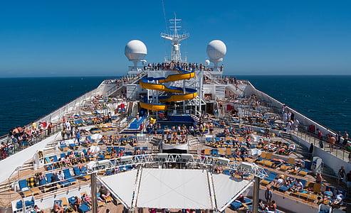 kryssning, fartyg, Ocean, havet, resor, kryssningsfartyg, semester