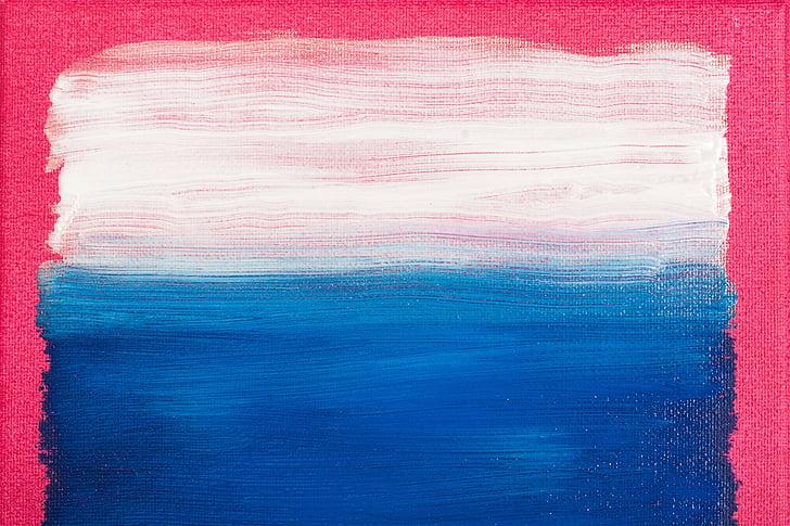 pintura, pintura, imatge, disseny, l'expressionisme abstracte, pintura de camp de color, estil