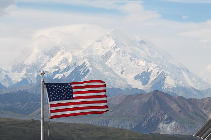 Denali, Alaska, Parc, McKinley, paisatge, muntanya, nord