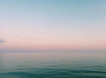 platja, paper d'empaperar de HD, horitzó, natura, oceà, escèniques, Mar