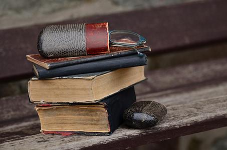 llibres, vell, mobles, llegir, llibres antics, llibre, llibre antic