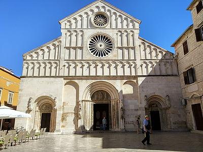 Zadar, Kroatien, Domkyrkan, Medelhavet, turism, resor, Europa