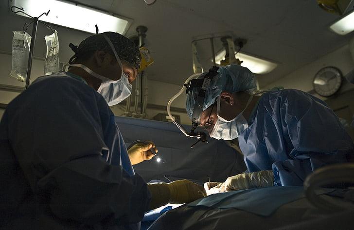 doctor, physician, surgery, operation, hospital, medicine, sterile