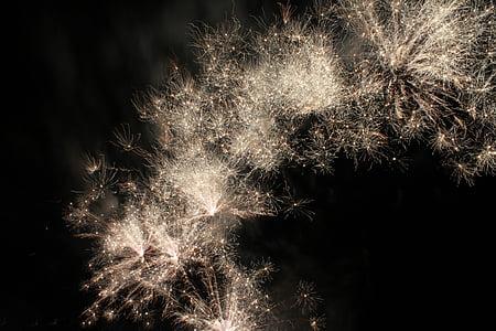 tűzijáték, ünnepelni, július 4-én, Dom, felrobban, fél, robbanás