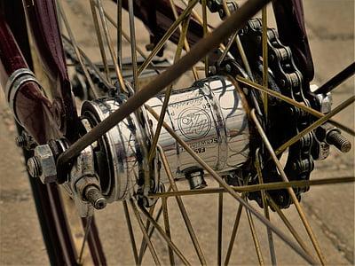 kolo, žbice, Lanac, bicikl, koncentrator, obruč, kotači