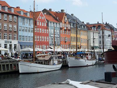denmark, copenhagen, danish, tourism, cityscape, harbor