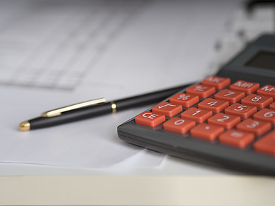 negoci, Calculadora, càlcul, Assegurances, Finances, Comptabilitat, ploma