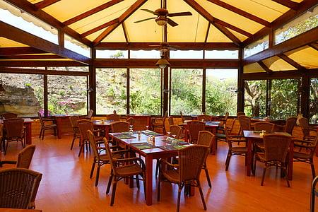 sala d'esmorzars, espai, taula, menjar, menjador, Hotel, Restaurant