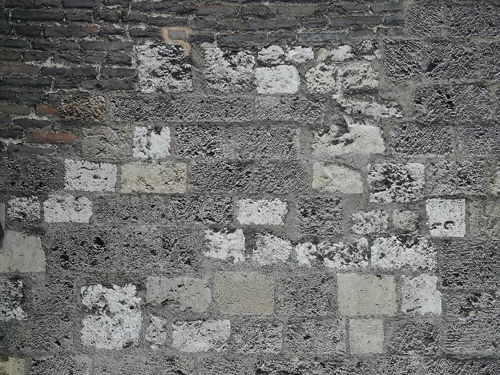 mur, Pierre, mur de Pierre, place, construire