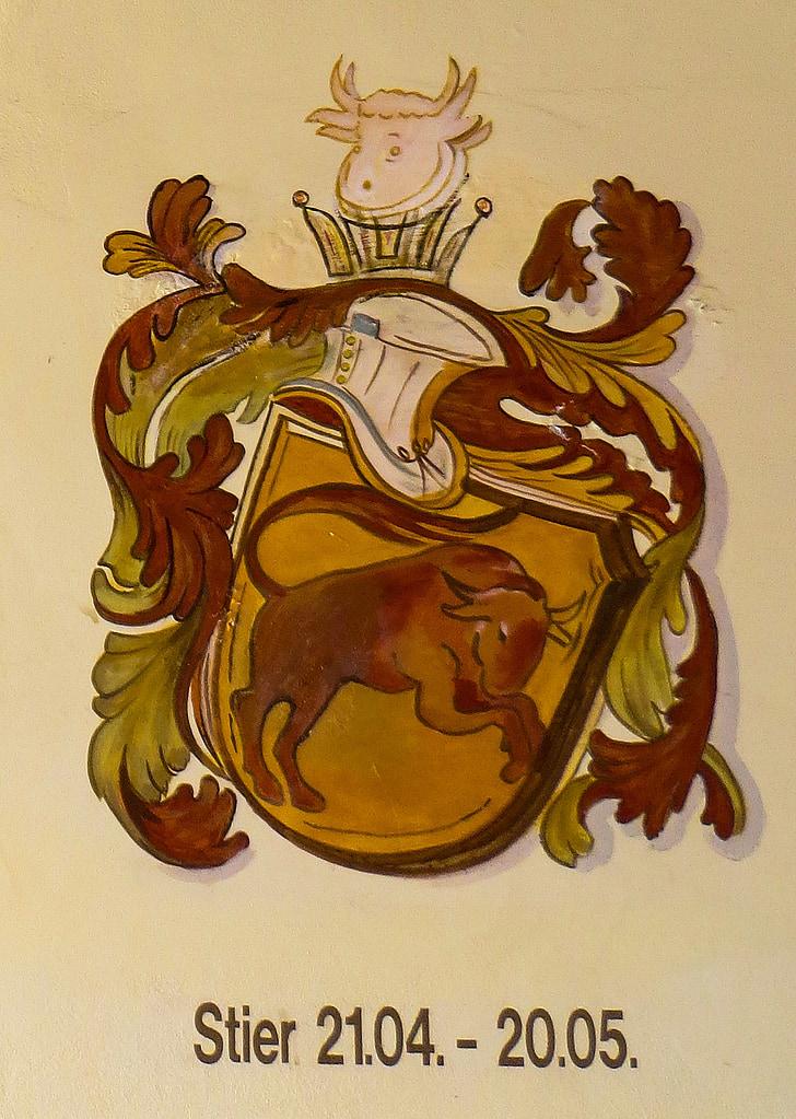 sterrenbeeld, Horoscoop, Astrologie, Stier, tekens van de dierenriem, symbool