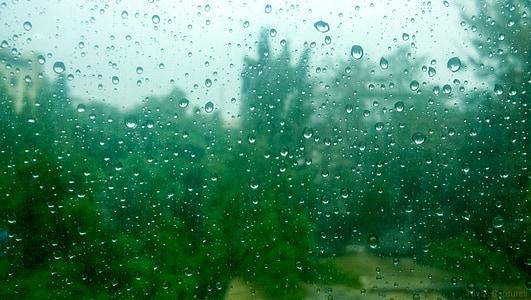 gotes de pluja, gotes de pluja de mirall, vidre, gota, pluja, temps