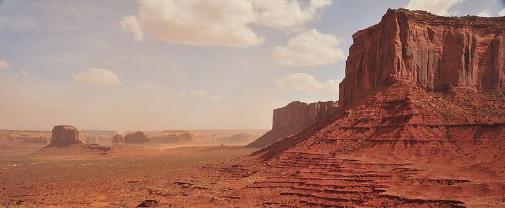 desert, landscapes, desert landscape, nature, sand, sunset landscape, mountain