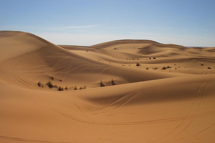puščava, Maroko, Sahara, pesek