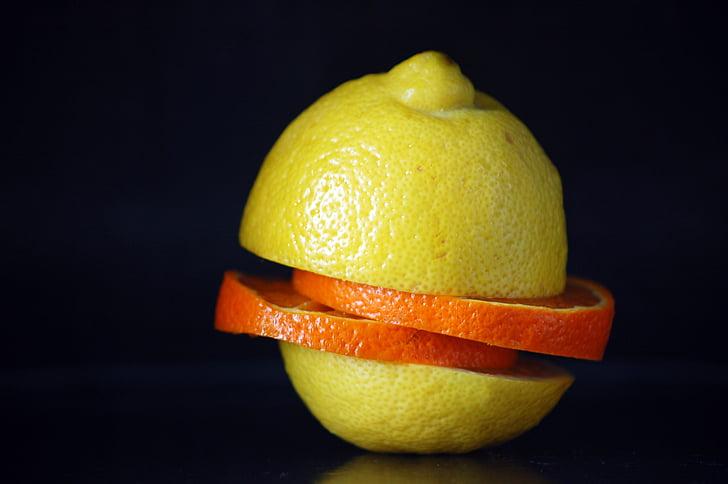 fruites i verdures, Restaurant, llimona, taronja