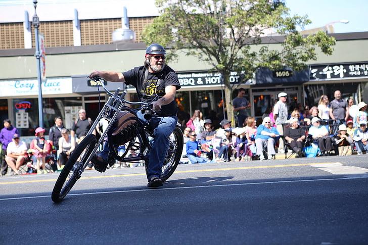 Kanada, Parade, Victoria day, Kanadas stolz, Biker, Motorrad, Sport-Rennen
