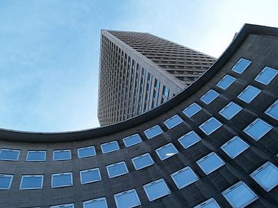 edifici, edifici corporatiu, disseny, arquitectura, Windows, corporativa