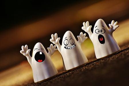 Halloween, fantasmas, Feliz Halloween, fantasma, otoño, Octubre, Estado de ánimo