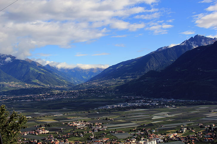 bjerge, Zillertal, Se, Dream day, dom, Alpine, Mayrhofen