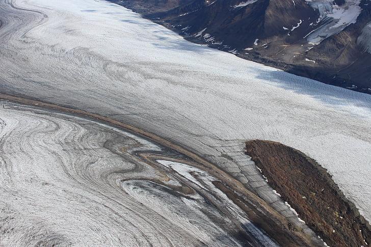 Parc Nacional Kluane, glacera, Yukon, Canadà, paisatge, gel, Kluane