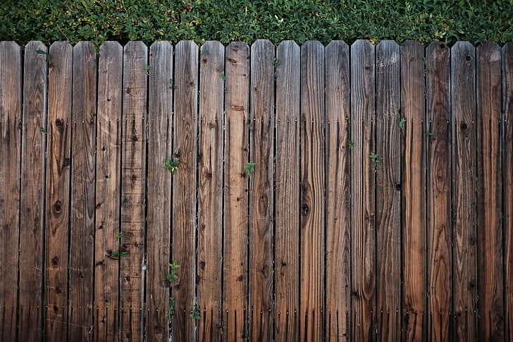 fence, wood, wooden, wooden fence, wood - Material, backgrounds, plank