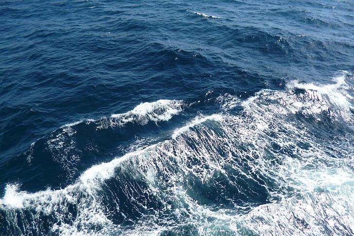val, valuri, mare, apa, albastru, natura, Oceanul Atlantic