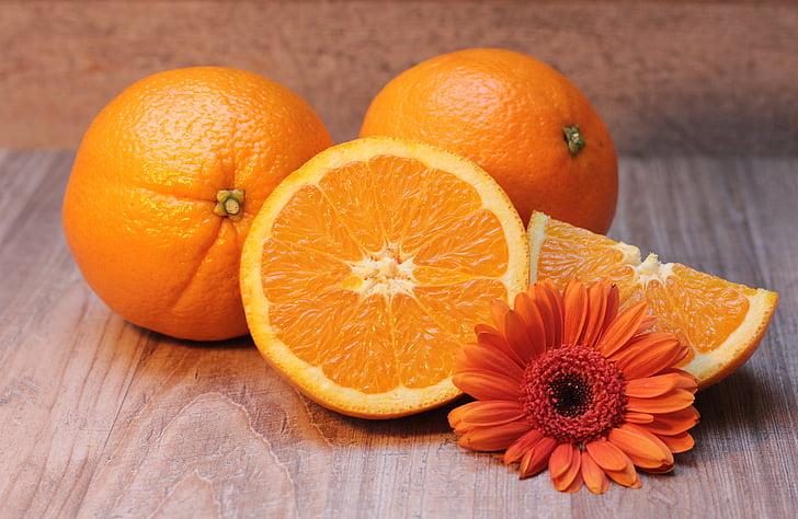 taronja, cítrics, fruita, Sa, vitamina c, Frisch, meitat