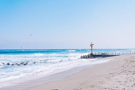Mar, Gangneung, Mar d'hivern, l'hivern