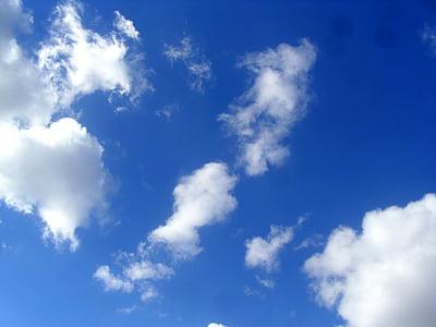 Natura, biały, niebo, Pogoda, Kolor, Wysoka, światło