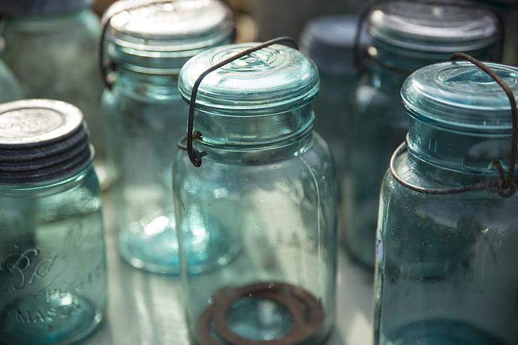 clar, vidre, flascons, ampolles, flascó, ampolla, Laboratori