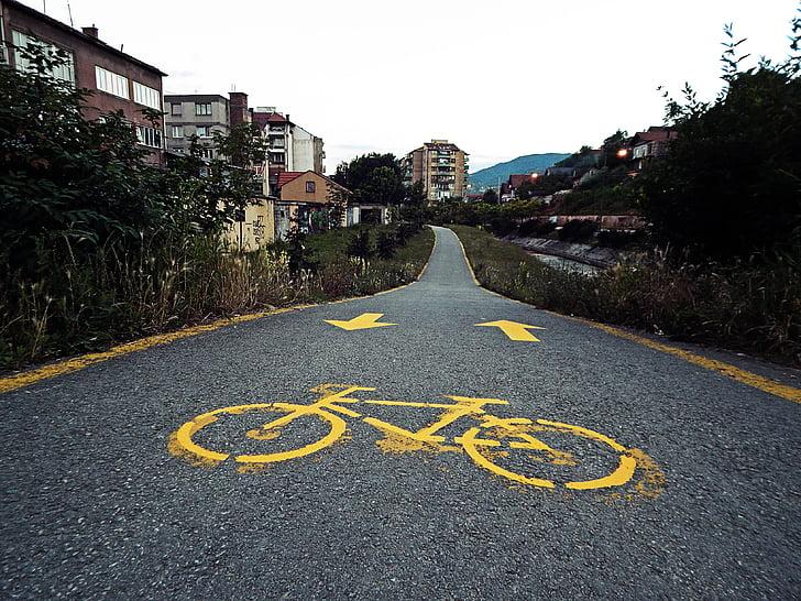 Велоспорт путь, велосипед, Коммутирующие, Байк
