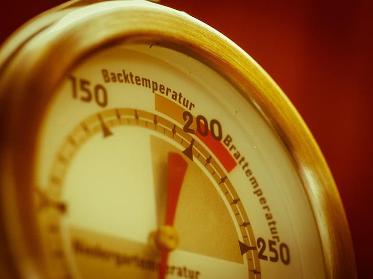 tagasi termomeeter, Küpseta, Termomeeter, temperatuuri, Heiss, soojuse, temperatuuri kontroller