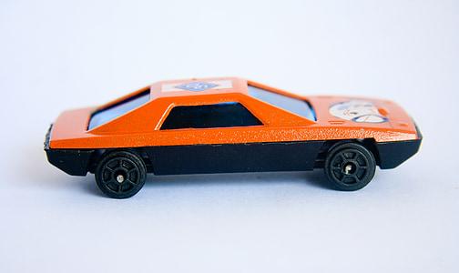 Zabawka, samochód sportowy, samochód, miniaturowe, pojazd